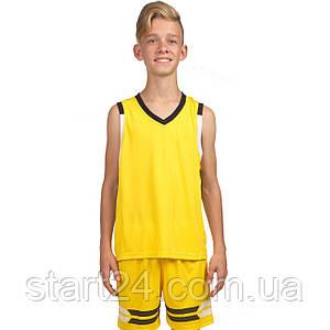 Форма баскетбольная детская Lingo LD-8019T (полиэстер, размер 4XS-M, рост 120-165см, цвета в ассортименте)
