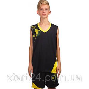 Форма баскетбольная детская Lingo Pace LD-8081T (PL, размер S, M, L, 115, 120, рост 125-165, цвета в