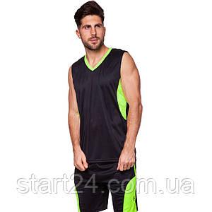 Форма баскетбольная мужская Lingo Star LD-8093 (PL, размер XL-5XL, рост 165-190, цвета в ассортименте)