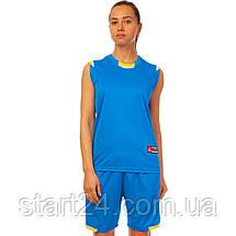 Форма баскетбольная женская Lingo Reward LD-8096W (полиэстер, размер L-2XL(44-50), цвета в ассортименте), фото 2