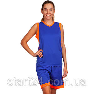Форма баскетбольная женская Lingo LD-8217 (полиэстер, размер L-3XL, рост 155-175см, цвета в ассортименте)