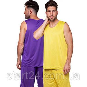 Форма баскетбольная мужская двусторонняя сетка Lingo Stalker LD-8300 (размер XL-5XL, рост 165-190, цвета в