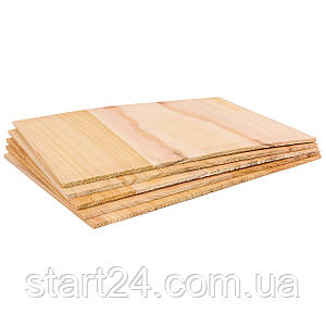Доска для разбивания одноразовая SP-Planeta BO-7252- 6 (древесина, размер 30x21см, толщина 6мм)