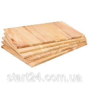 Доска для разбивания одноразовая SP-Planeta BO-7252- 9 (древесина, размер 30x21см, толщина 9мм)