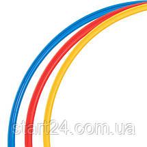 Кільця тренувальні C-0815-70 (пластик, d-70см, в комплекті 12шт., кольори в асортименті), фото 2