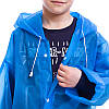 Дощовик дитячий на кнопках багаторазовий C-1010 (EVA, зріст 120-160см,кольори в асортименті ), фото 5