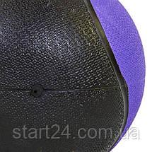 Мяч медицинский медбол Record Medicine Ball C-2660-2 2кг (верх-резина, наполнитель-песок, d-19,5см, цвета в, фото 2