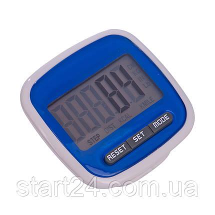 Шагомер электронный с клипсой C-2979 (667) (пластик, 3 в 1 калории, кол-во шагов, расстояние), фото 2