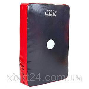 Макивара Прямая (1шт) Комби LEV UR LV-4283 (поддержка для рук, р-р 33x50x8см, цвета в ассортименте)
