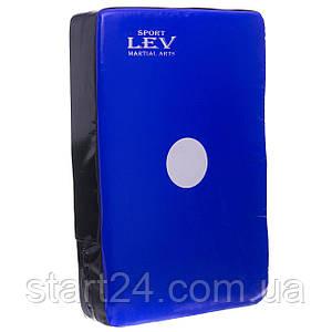 Макивара Прямая (1шт) Комби LEV UR LV-4284 (поддержка для рук, р-р 25x45x9см, цвета в ассортименте)