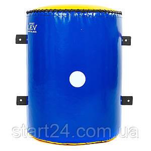 Макивара настенная конусная (1шт) Тент LEV UR LV-4286 (р-р 40x50x22,5см, синий, красный)