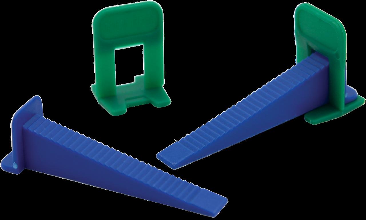 Система выравнивания плитки Mini. Клин 9*70 мм (100 шт)