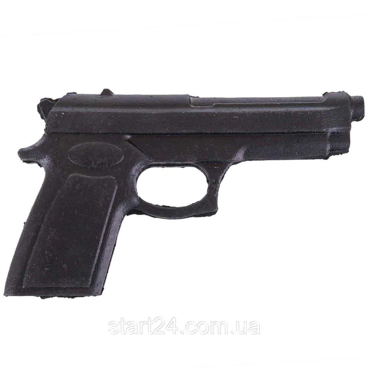 Пистолет тренировочный SP-Planeta С-3550 (резина, черный)