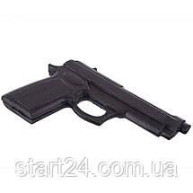 Пистолет тренировочный SP-Planeta С-3550 (резина, черный), фото 2