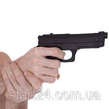 Пистолет тренировочный SP-Planeta С-3550 (резина, черный), фото 3