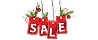 Новогодняя распродажа напольных покрытий