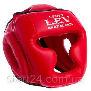 Шлем боксерский с полной защитой Маска LEV Стрейч UR LV-4294 (р-р М-XL, цвета в ассортименте)