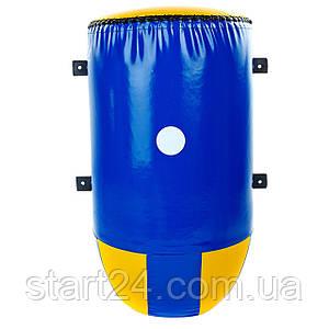 Макивара настенная конусная (1шт) Тент LEV UR LV-5368 (р-р 70х40х27см, синий-желтый)
