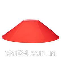 Фишки для разметки поля на пластиковой подставке 50шт С-4347 (d-20см, 50шт, 34гр,уп. цветная короб.,, фото 3