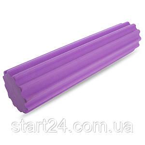 Роллер массажный EVA FI-5158-60 l-60см (d-15см, фиолетовый)