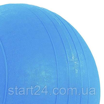 Набивний м'яч слембол для кроссфита Record SLAM BALL FI-5165-2 2кг (гума, мінеральний наповнювач, d-23см,, фото 2