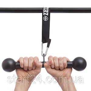 Підвіс (собача кістка) для подтяг. і трен. сили рук FI-5171 Dog Bone (підвіс l-38,5 см, лямки l-38см)
