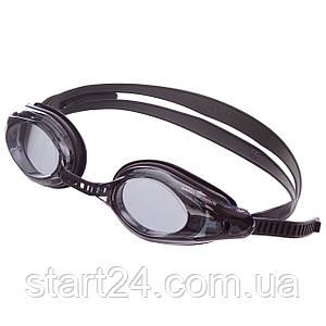 Очки для плавания MadWave COMPETITION AUTO M043001 (поликарбонат, силикон, цвета в ассортименте)