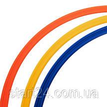 Кільця тренувальні C-4602-40 (пластик, d-40см, в комплекті 12шт., кольори в асортименті), фото 2
