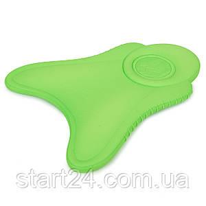 Доска для плавания детская MadWave EXT KIDS M072302 (EVA, р-р 38x31см, зеленый)