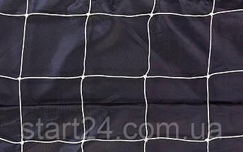 Сітка на ворота футбольні тренувальна вузлова (2шт) C-5644 (PP, 2,5 мм, осередок 12х12см, PVC чохол), фото 3