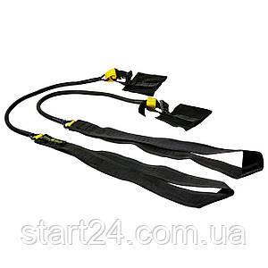 Поштовховий тренажер для плавання MadWave KICK TRAINER SHORT M077108 (латекс, нейлон, PP, опір від 2,2