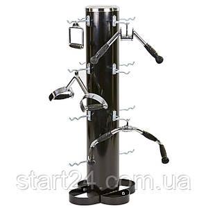 Подставка (стойка) для аксессуаров, рукоятей Zelart TA-6763 (металл, р-р 52х54х121см)