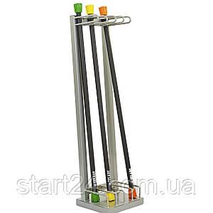 Подставка (стойка) для бодибаров Zelart TA-6764 (металл, р-р 30х32х120cм)
