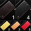 """Чохол книжка з натуральної шкіри протиударний магнітний для Samsung A10 А105F """"CLASIC"""", фото 4"""