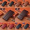 """Чохол книжка з натуральної шкіри магнітний протиударний для Samsung A10 А105F """"ITALIAN"""", фото 3"""