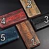 """Чохол книжка з натуральної LUX шкіри магнітний протиударний для Samsung A10 А105F """"ZENUS"""", фото 4"""