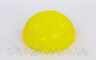 Півсфера масажна балансувальна Balance Kit FI-5681 (PVC, d-34см, h-7,5 см, 1200g, кольори в асортименті)
