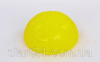Полусфера массажная балансировочная Balance Kit FI-5681 (PVC, d-34см, h-7,5см, 1200g, цвета в ассортименте)