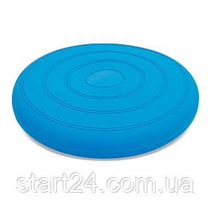 Подушка балансировочная FI-5682 BALANCE CUSHION (PVC, d-34см, 900гр, цвета в ассортименте)