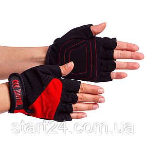 Перчатки для фитнеса MATSA MA-4906 размер S-XL цвета в ассортименте