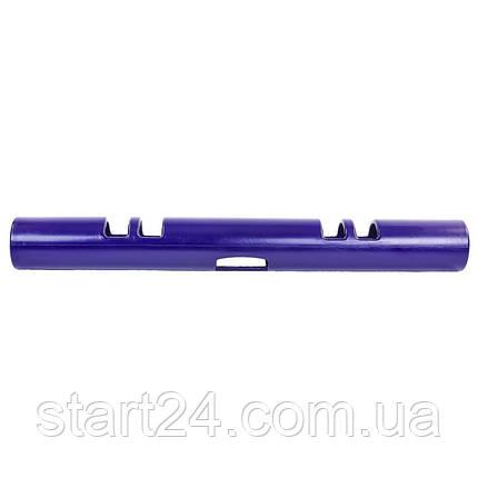 Вайпер функциональный тренажер VIPR MULTI-FUNCTIONAL TRAINER FI-5720-4 (4кг, d-13см, l-107см, фиолетовый), фото 2