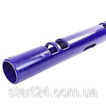 Вайпер функціональний тренажер VIPR MULTI-FUNCTIONAL TRAINER FI-5720-4 (4кг, d-13см, l-107см, фіолетовий), фото 2