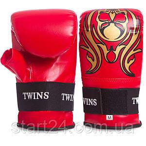 Снарядні рукавички з відкритим великим пальцем DX TWIN MA-5437 (р-р M-XL, кольори в асортименті)