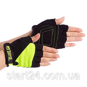 Перчатки для фитнеса MATSA MA-6235 размер XS-L цвета в ассортименте