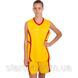 Форма баскетбольная женская SP-Sport Atlanta CO-1101 (полиэстер, р-р S-L(44-50), цвета в ассортименте)