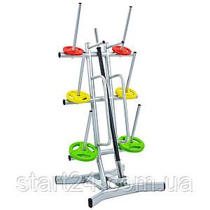 Подставка (стойка) для штанг фитнес памп TA-8214 (металл, р-р cм)LRK-501