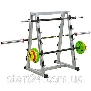 Подставка (стойка) для штанг Zelart TA-8216 (металл, р-р 90х85х127см)