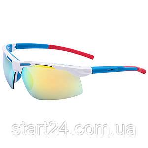 Велоочки солнцезащитные MC5265 (пластик, акрил, цвета в ассортименте)