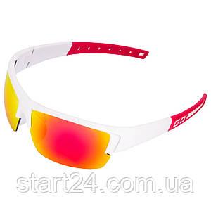 Очки спортивные солнцезащитные MC5276 (пластик, акрил, цвета в ассортименте)
