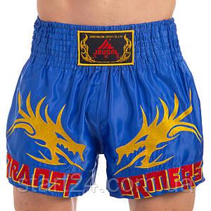 Шорты для тайского бокса и кикбоксинга SP-Planeta CO-3280 (полиэстер, р-р M-XXXL рост 150-190см, цвета в
